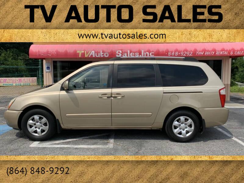 2007 Kia Sedona for sale at TV Auto Sales in Greer SC