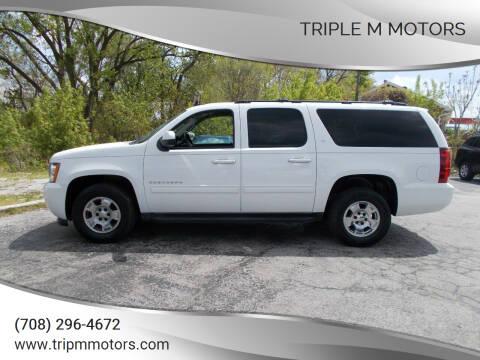 2013 Chevrolet Suburban for sale at Triple M Motors in Saint John IN