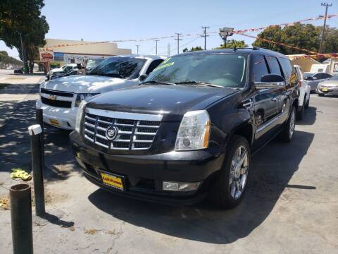 2011 Cadillac Escalade ESV for sale at L & M MOTORS in Santa Maria CA