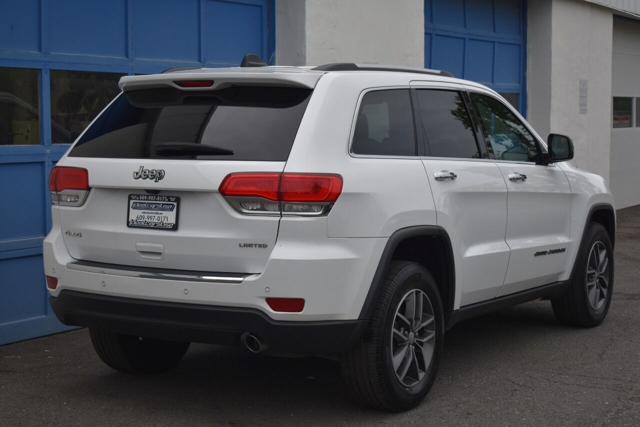 2017 Jeep Grand Cherokee Limited 4×4 4dr SUV full