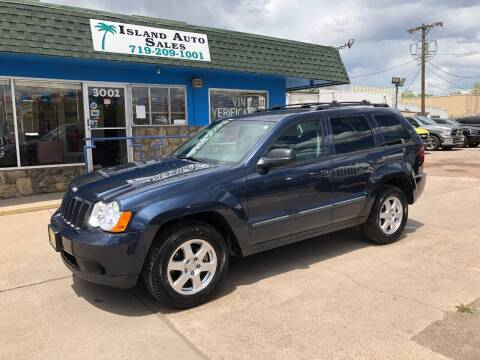 2009 Jeep Grand Cherokee for sale at Island Auto Sales in Colorado Springs CO