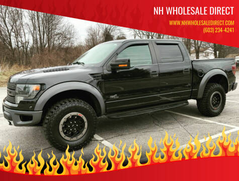 2014 Ford F-150 for sale at NH WHOLESALE DIRECT in Derry NH