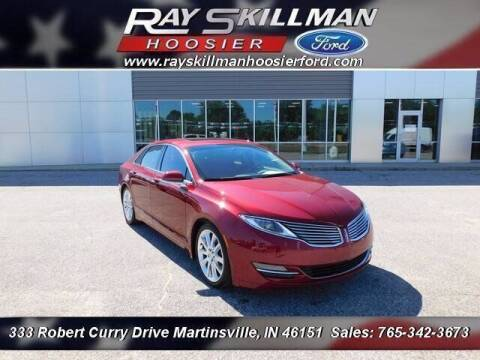 2014 Lincoln MKZ for sale at Ray Skillman Hoosier Ford in Martinsville IN