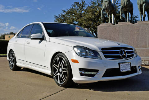 2014 Mercedes-Benz C-Class for sale at European Motor Cars LTD in Fort Worth TX
