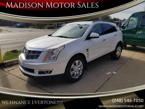 2010 Cadillac SRX for sale at Madison Motor Sales in Madison Heights MI