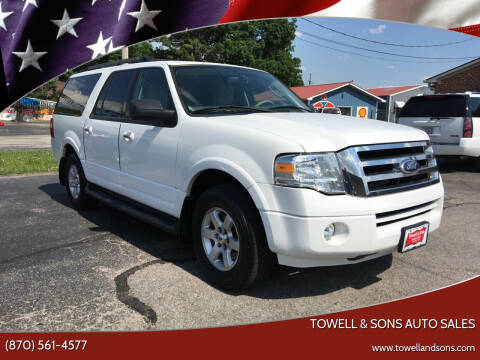 2010 Ford Expedition EL for sale at Towell & Sons Auto Sales in Manila AR