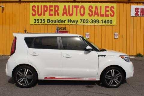 2014 Kia Soul for sale at Super Auto Sales in Las Vegas NV