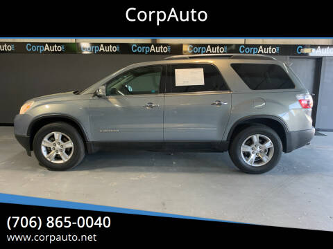 2008 GMC Acadia for sale at CorpAuto in Cleveland GA