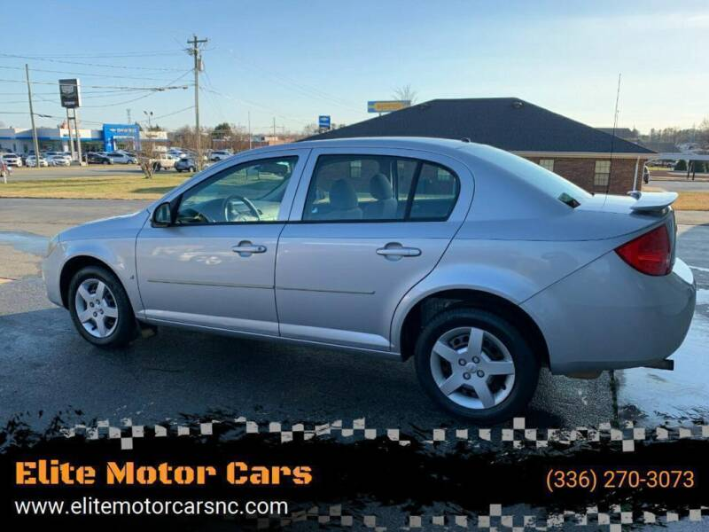 2008 Chevrolet Cobalt for sale at Elite Motor Cars in Burlington NC