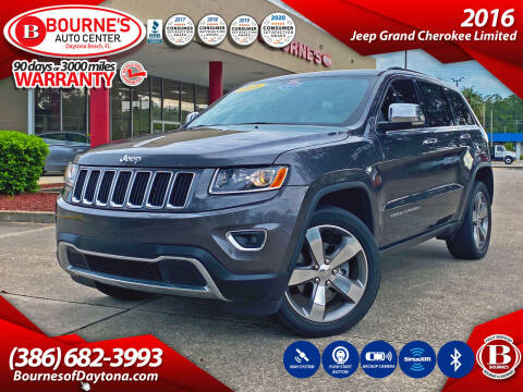 2016 Jeep Grand Cherokee for sale at Bourne's Auto Center in Daytona Beach FL