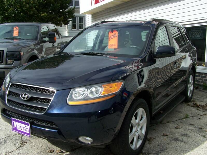 2008 Hyundai Santa Fe for sale at MISHICOT AUTO SALES LLC in Mishicot WI
