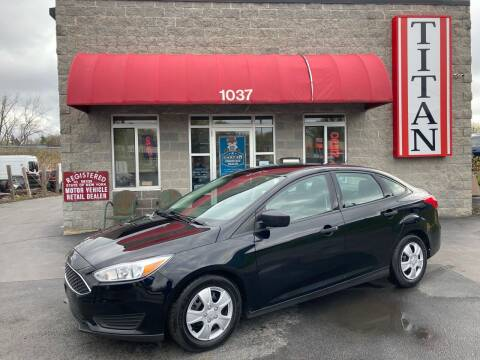 2016 Ford Focus for sale at Titan Auto Sales LLC in Albany NY