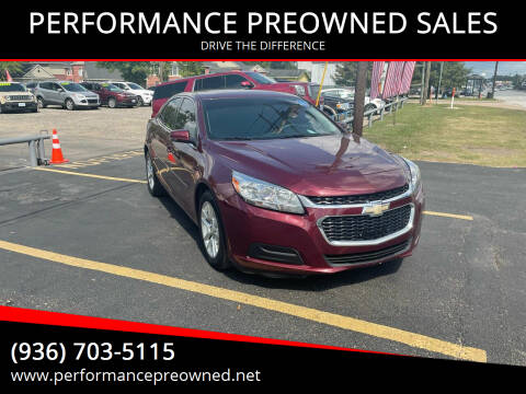 2016 Chevrolet Malibu Limited for sale at PERFORMANCE PREOWNED SALES in Conroe TX