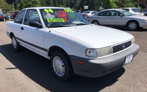 1994 Nissan Sentra for sale at Freeborn Motors in Lafayette, OR