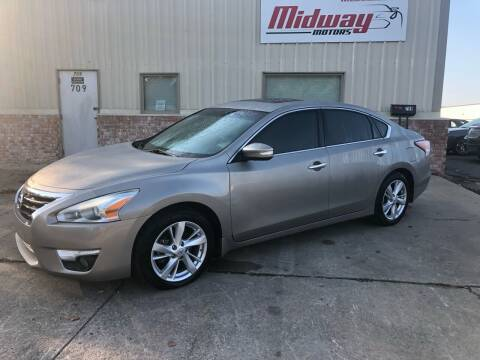 2015 Nissan Altima for sale at Midway Motors in Conway AR