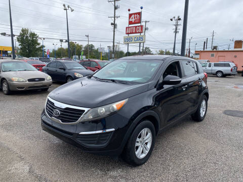 2011 Kia Sportage for sale at 4th Street Auto in Louisville KY