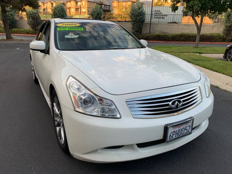 2008 Infiniti G35 for sale at Select Auto Wholesales in Glendora CA
