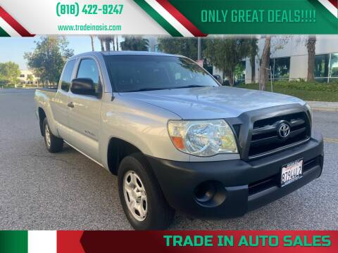 2007 Toyota Tacoma for sale at Trade In Auto Sales in Van Nuys CA