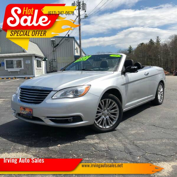 2011 Chrysler 200 Convertible for sale at Irving Auto Sales in Whitman MA
