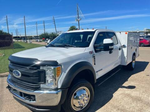 2017 Ford F-450 Super Duty for sale at TWIN CITY MOTORS in Houston TX