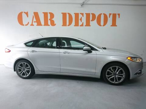 2017 Ford Fusion for sale at Car Depot in Miramar FL
