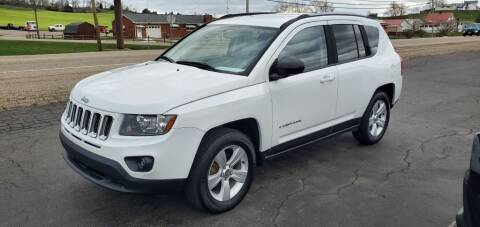 2016 Jeep Compass for sale at Gallia Auto Sales in Bidwell OH