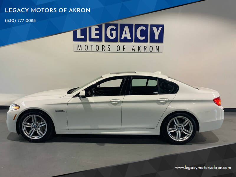 2015 BMW 5 Series for sale at LEGACY MOTORS OF AKRON in Akron OH