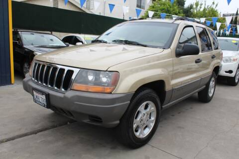 2000 Jeep Grand Cherokee for sale at FJ Auto Sales North Hollywood in North Hollywood CA