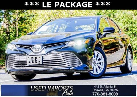 2018 Toyota Camry for sale at Used Imports Auto in Roswell GA