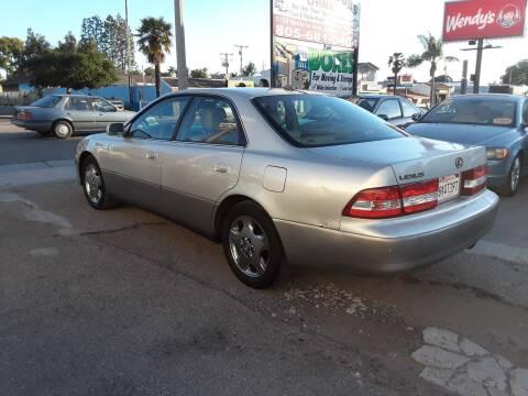 2001 Lexus ES 300 for sale at Goleta Motors in Goleta CA