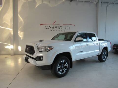 2019 Toyota Tacoma for sale at Cabriolet Motors in Morrisville NC