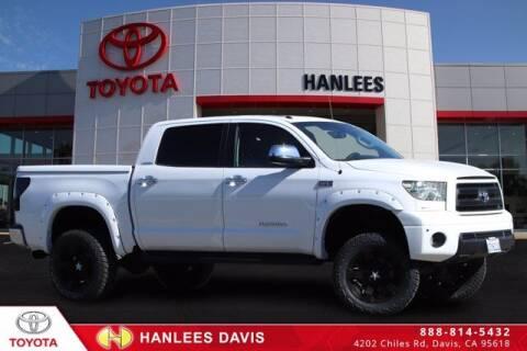 2012 Toyota Tundra for sale at Hanlees Davis Toyota in Davis CA