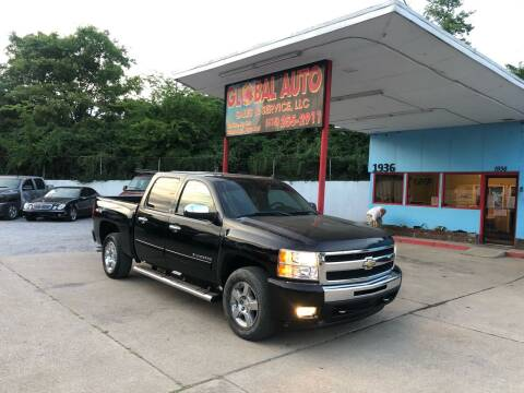 2011 Chevrolet Silverado 1500 for sale at Global Auto Sales and Service in Nashville TN