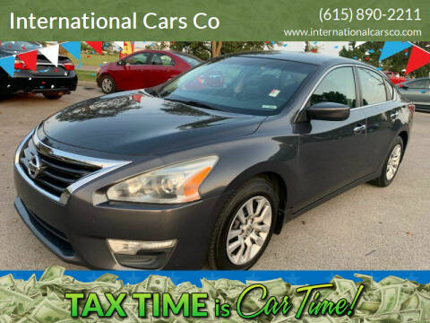 2013 Nissan Altima for sale at International Cars Co in Murfreesboro TN
