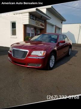 2011 Chrysler 300 for sale at American Auto Bensalem Inc in Bensalem PA