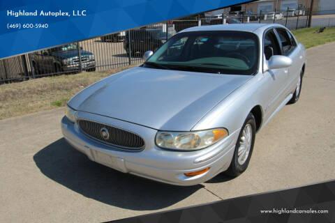2002 Buick LeSabre for sale at Highland Autoplex, LLC in Dallas TX