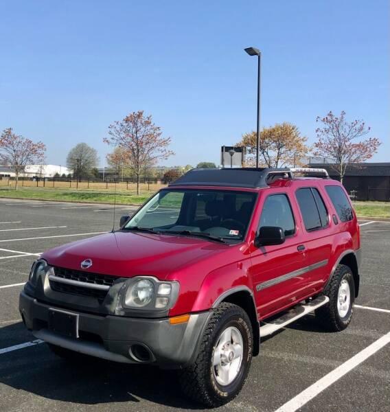 2002 Nissan Xterra for sale at ONE NATION AUTO SALE LLC in Fredericksburg VA