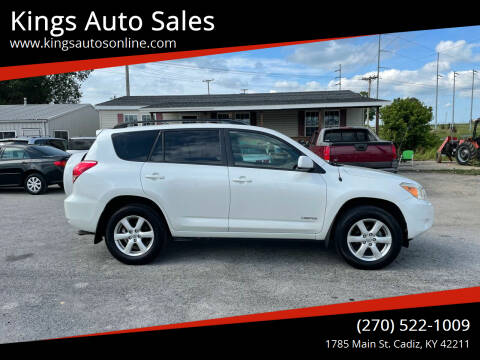 2008 Toyota RAV4 for sale at Kings Auto Sales in Cadiz KY