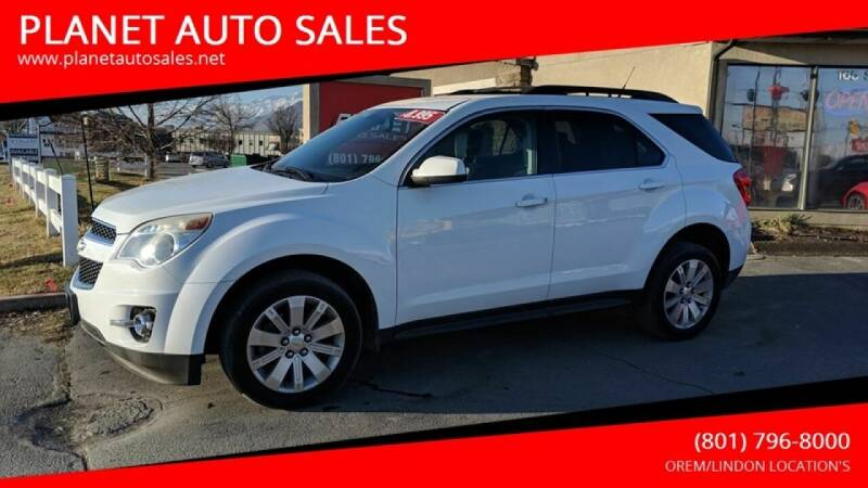 2011 Chevrolet Equinox for sale at PLANET AUTO SALES in Lindon UT