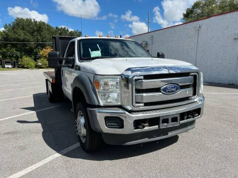 2014 Ford F-550 Super Duty for sale at LUXURY AUTO MALL in Tampa FL