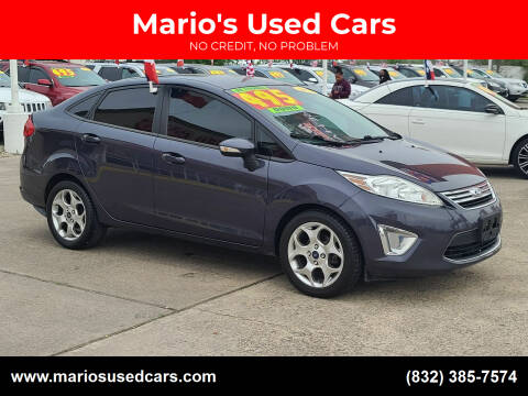 2012 Ford Fiesta for sale at Mario's Used Cars in Houston TX
