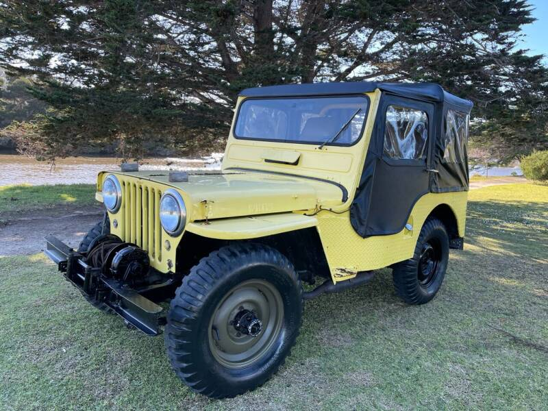 1949 Jeep Willys for sale at Dodi Auto Sales in Monterey CA