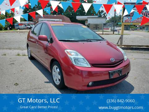 2005 Toyota Prius for sale at GT Motors, LLC in Elkin NC