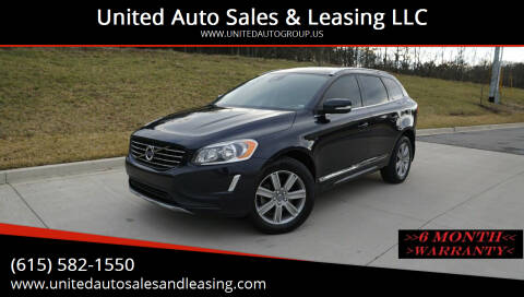 2016 Volvo XC60 for sale at United Auto Sales & Leasing LLC in La Vergne TN