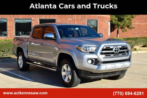 2017 Toyota Tacoma for sale at Atlanta Cars and Trucks in Kennesaw GA