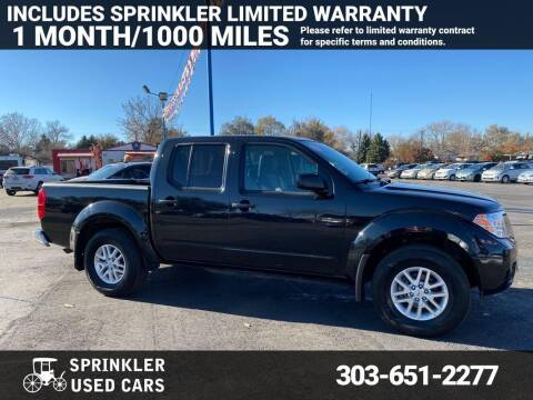 2019 Nissan Frontier for sale at Sprinkler Used Cars in Longmont CO
