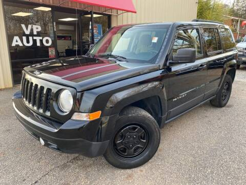 2016 Jeep Patriot for sale at VP Auto in Greenville SC
