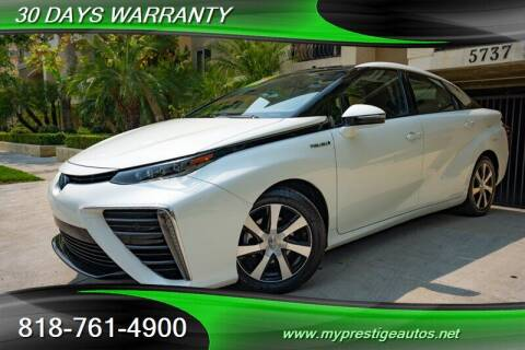2016 Toyota Mirai for sale at Prestige Auto Sports Inc in North Hollywood CA