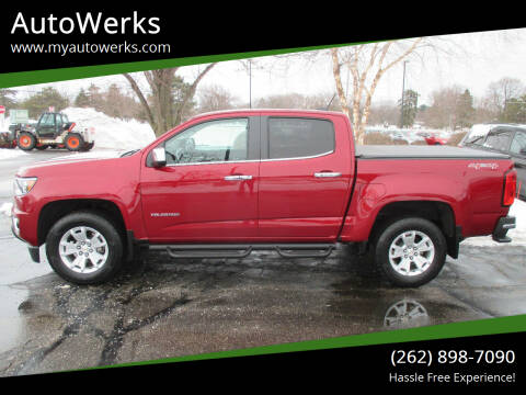 2018 Chevrolet Colorado for sale at AutoWerks in Sturtevant WI