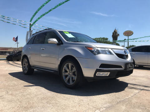 2010 Acura MDX for sale at SOUTHWAY MOTORS in Houston TX
